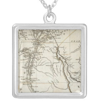 Ancient Egypt 4 Silver Plated Necklace