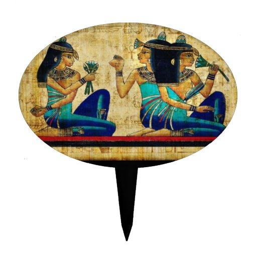 Ancient Egypt 6 Cake Picks
