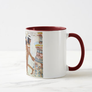 Ancient Egypt  Dancers Mug