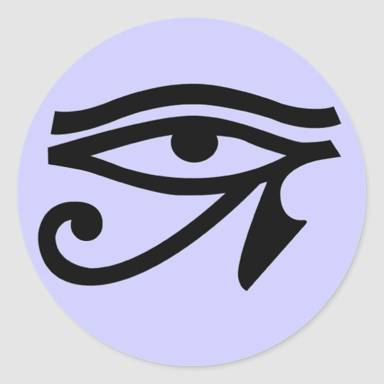 Ancient Egypt Eye of Horus Symbol Stickers