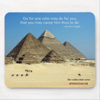Ancient Egypt: Golden Rule Series Mouse Pad