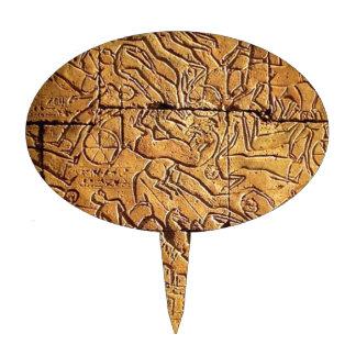 ANCIENT EGYPT MURAL CAKE PICKS
