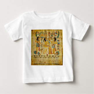 Ancient Egypt Tapestry Scroll Heirogliphics Baby T-Shirt