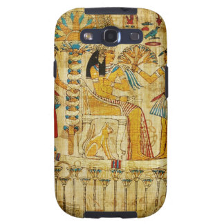 Ancient Egypt Tapestry Scroll Heirogliphics Galaxy S3 Case