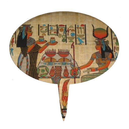 ANCIENT EGYPT WALL MURAL CAKE TOPPER