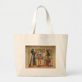 ANCIENT EGYPT WALL MURAL LARGE TOTE BAG