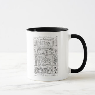 Ancient Egyptian and Persian Mug