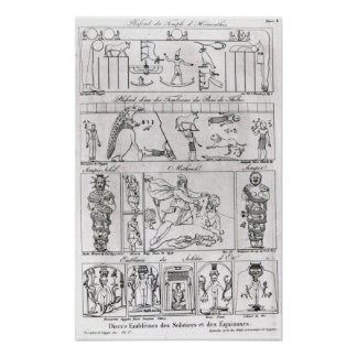 Ancient Egyptian and Persian Poster
