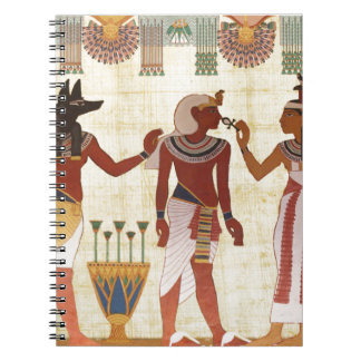 Ancient, Egyptian art style notebook