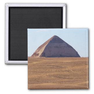 Ancient Egyptian Bent Pyramid - Dahshur Magnet