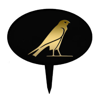 Ancient Egyptian bird – goddess Nekhbet Cake Picks