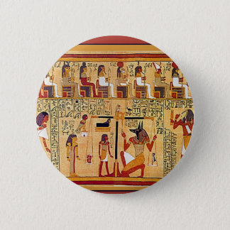 Ancient Egyptian Book of the Dead. 6 Cm Round Badge