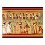 Ancient Egyptian Book of the Dead. Postcard