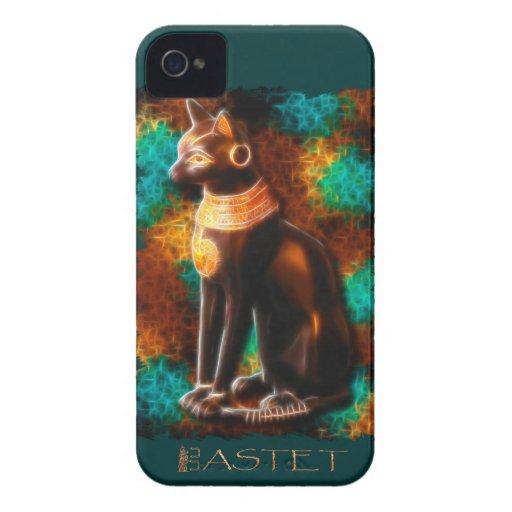 Ancient Egyptian Cat God Bastet II iPhone 4 Case-Mate Cases