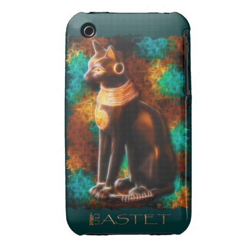Ancient Egyptian Cat God Bastet II iPhone 3 Covers