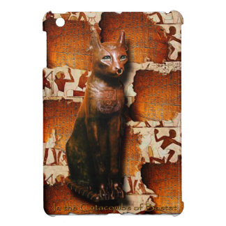 Ancient Egyptian Cat God Bastet iPad Mini Cases