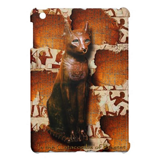 Ancient Egyptian Cat God Bastet iPad Mini Case