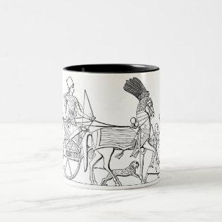 Ancient Egyptian Chariot Coffee Mugs