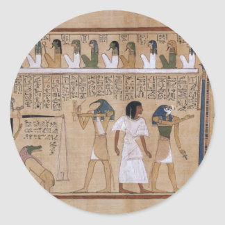 Ancient Egyptian Classic Round Sticker