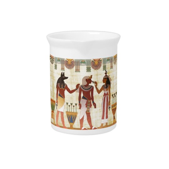 Ancient Egyptian design pitcher