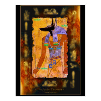 Ancient Egyptian God Anubis Gift Range Post Card