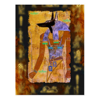 Ancient Egyptian God Anubis Gift Range Post Cards