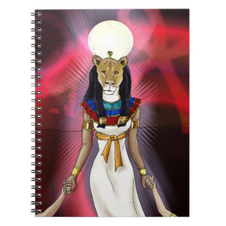 Ancient Egyptian Goddess Sekhmet Notebook