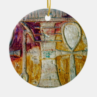 Ancient Egyptian Hieroglyphics Ornament