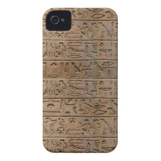 Ancient Egyptian Hieroglyphs Designer Gift Case-Mate iPhone 4 Case