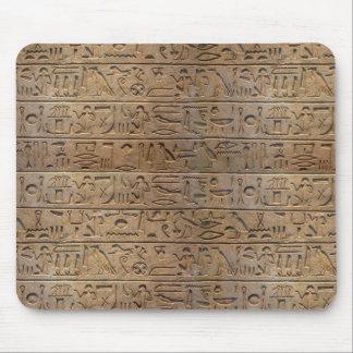 Ancient Egyptian Hieroglyphs Designer Gift Mouse Mat