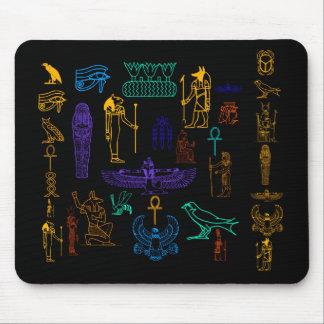 Ancient Egyptian Hieroglyphs Mousepad