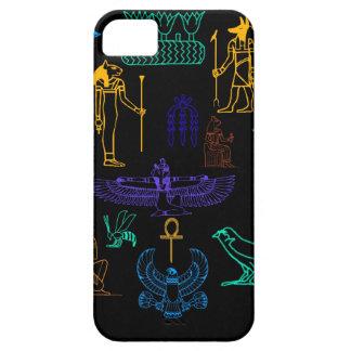 Ancient Egyptian Hieroglyphs & Symbols iPhone 5 Case