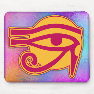 Ancient Egyptian Horus Symbol Mouse Pad