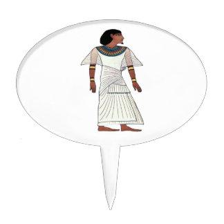 Ancient Egyptian Illustration Cake Picks