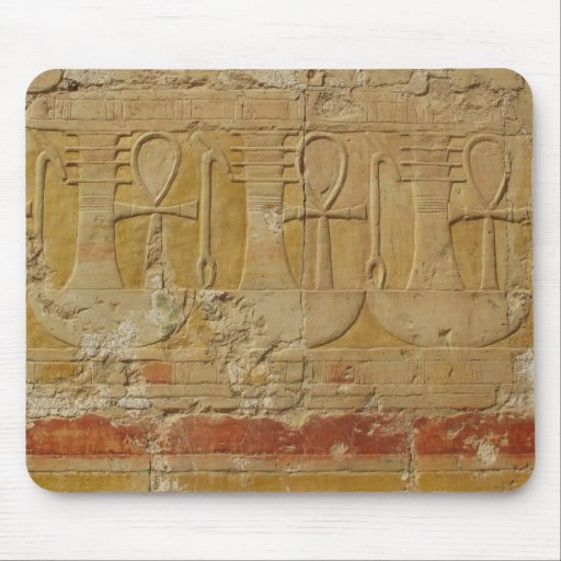 Ancient Egyptian Key Of Life Ankh Mousepads