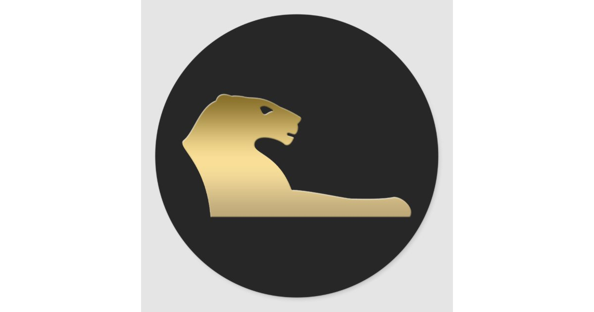 Ancient Egyptian Lion Goddess Sekhmet Classic Round Sticker