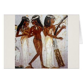 Ancient Egyptian Music Card