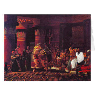 Ancient Egyptian Musicians 1863 Big Greeting Card