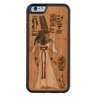 Ancient Egyptian Papyrus Pharaonic Hieroglyphic Carved Cherry iPhone 6 Bumper Case