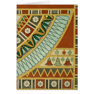 Ancient Egyptian Pattern Card