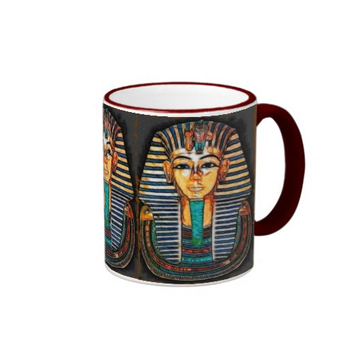 Ancient Egyptian Pharaoh Tutankhamen Mugs