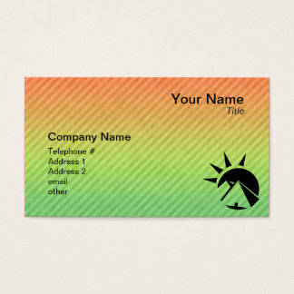 Ancient Egyptian Pyramid Business Card