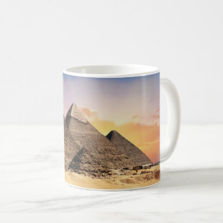 Ancient Egyptian Pyramids Photograph Coffee Mug