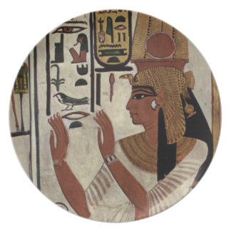 Ancient Egyptian Queen [Nefertari] Plate