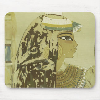 Ancient Egyptian Queen Vintage Luxor Cairo Travel Mouse Pad