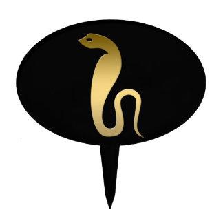 Ancient Egyptian snake – goddess Renenutet Cake Toppers