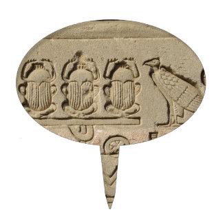 Ancient Egyptian Symbols Cake Picks