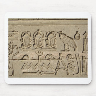 Ancient Egyptian Symbols Mouse Pad
