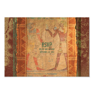 Ancient Egyptian Wedding RSVP Reply Card