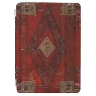 Ancient Embossed Leather And Brass Book Cover iPad Air Cover